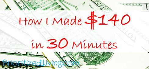 How I Made 140 Dollars in 30 Minutes
