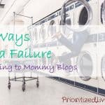 10 Ways I'm a Failure According to Mommy Blogs