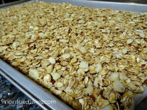 Compacted granola