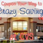 Coupon Your Way to Crazy Savings at CVS