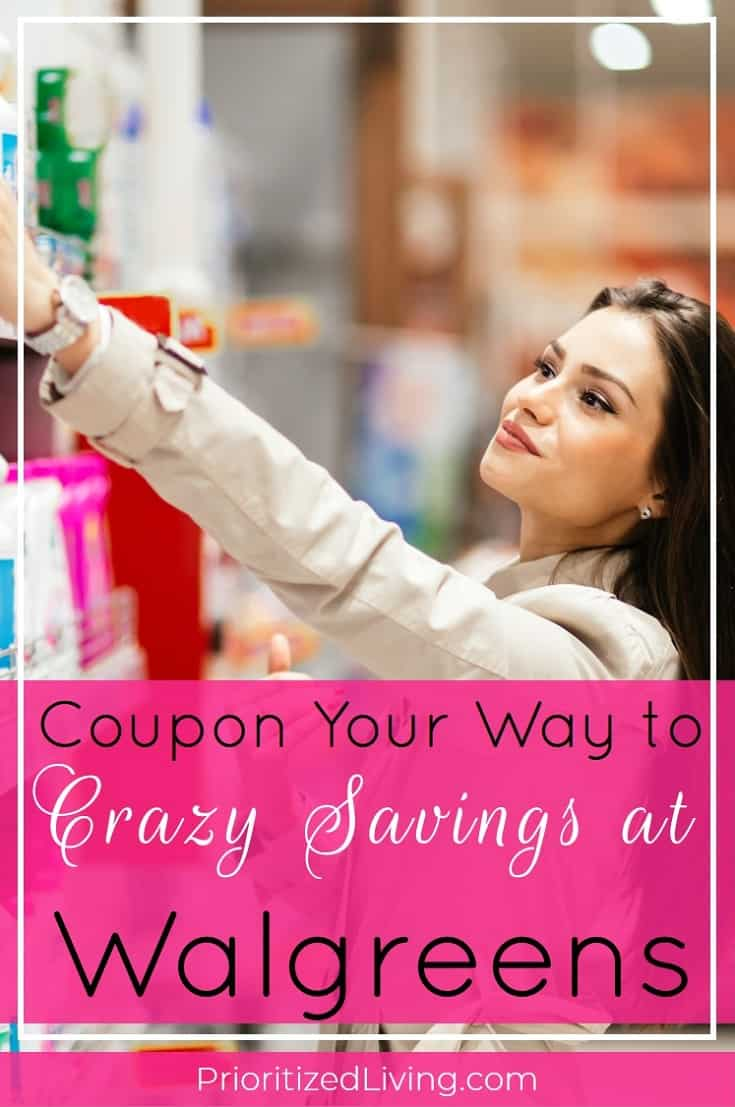Want to play the drugstore game at Walgreens? Here's your essential guide to couponing and saving big at the drugstore! | Coupon Your Way to Crazy Savings at Walgreens | Prioritized Living
