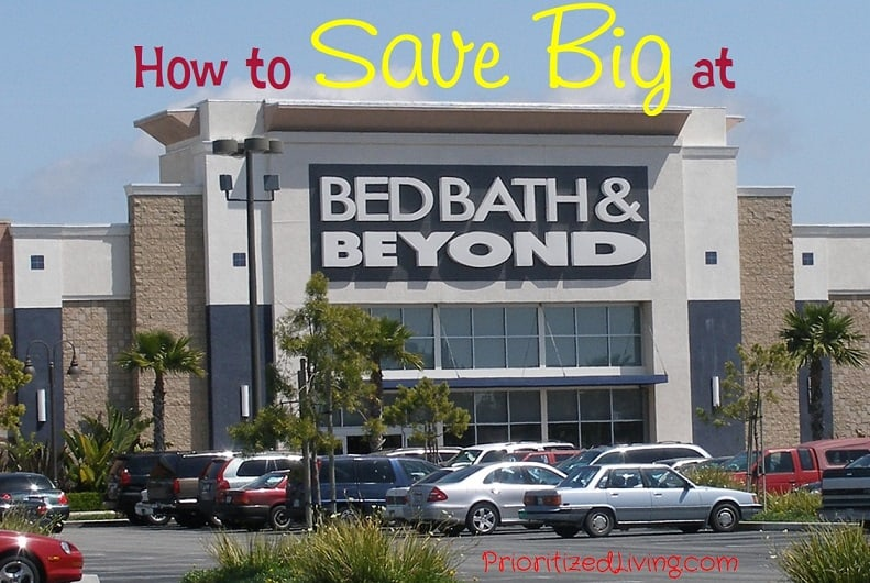 How to Save Big at Bed Bath and Beyond