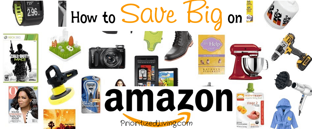 How to Save Big on Amazon