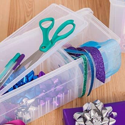 Gift wrap accessories box