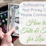 Suffocating in Your Pricey Cell Phone Contract? How to Talk & Text for Less