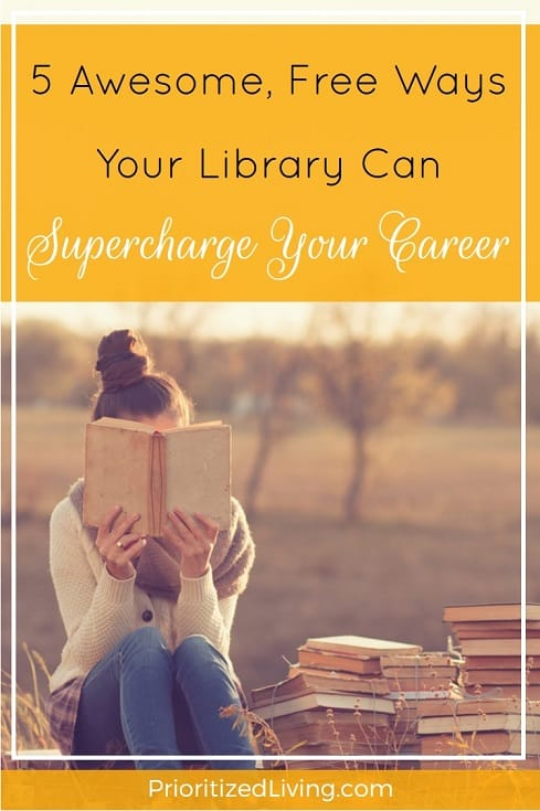 5 Awesome Free Ways Your Library Can Supercharge Your Career - Pin