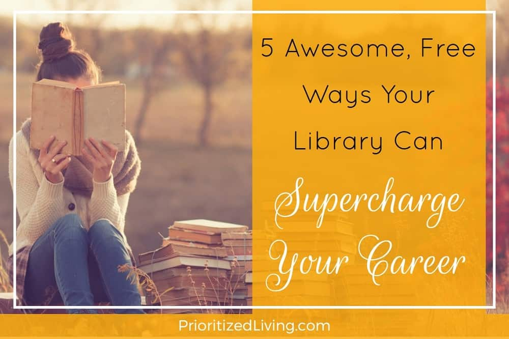 5 Awesome Free Ways Your Library Can Supercharge Your Career