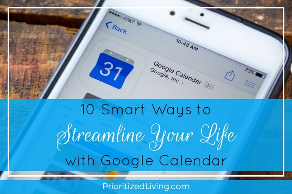 10 Smart Ways to Streamline Your Life with Google Calendar