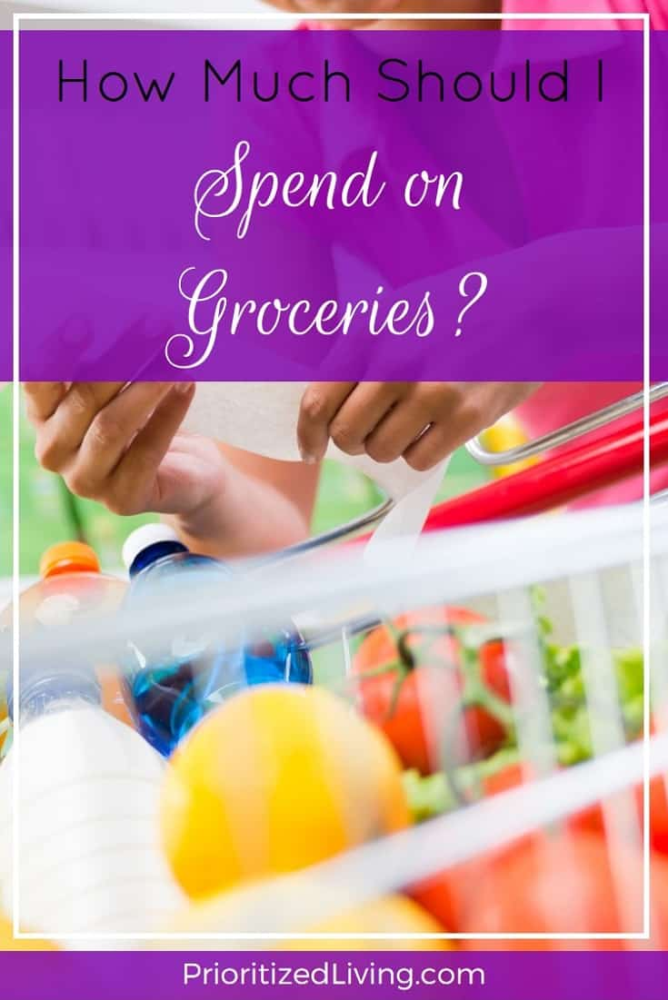 Is your food spending normal? Here are some quick checks to see whether your groceries budget is on target. | How Much Should I Spend on Groceries? | Prioritized Living