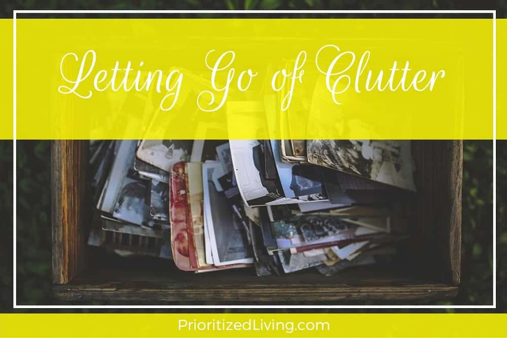 Letting Go: Why You Should Get Rid of Clutter