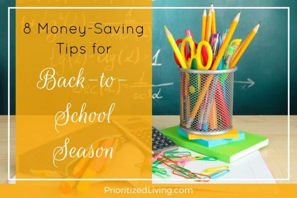 8 Money-Saving Tips for Back-to-School Season