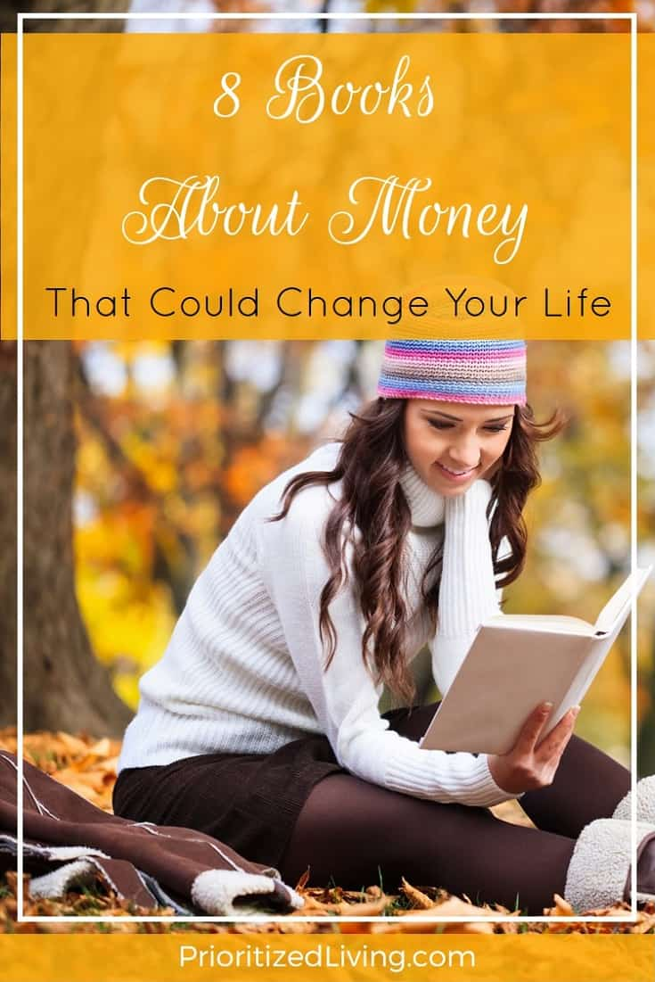 Not too long ago, Student Loan Hero interviewed me and 7 other personal finance bloggers. And they wanted to hear about one of my favorite money books. | 8 Books About Money That Could Change Your Life | Prioritized Living