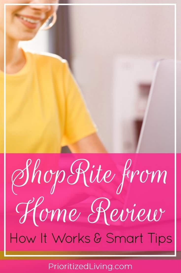 Everything you need to know about ShopRite from home -- how it works, tips for saving time, and secrets to saving money with this service. | ShopRite from Home Review: How It Works and Smart Tips | Prioritized Living