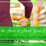 Skip the Store & Stock Your Pantry with ShopRite from Home