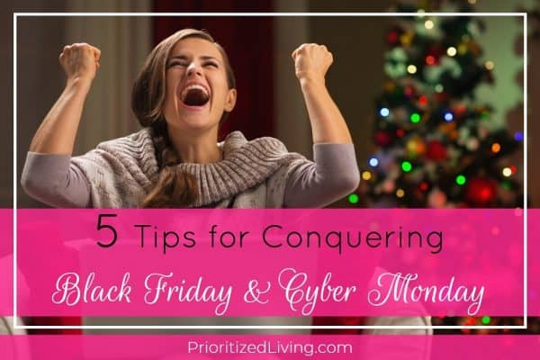 5 Tips for Conquering Black Friday & Cyber Monday
