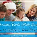 Christmas Cards Made Easy: How to Simplify Your Process