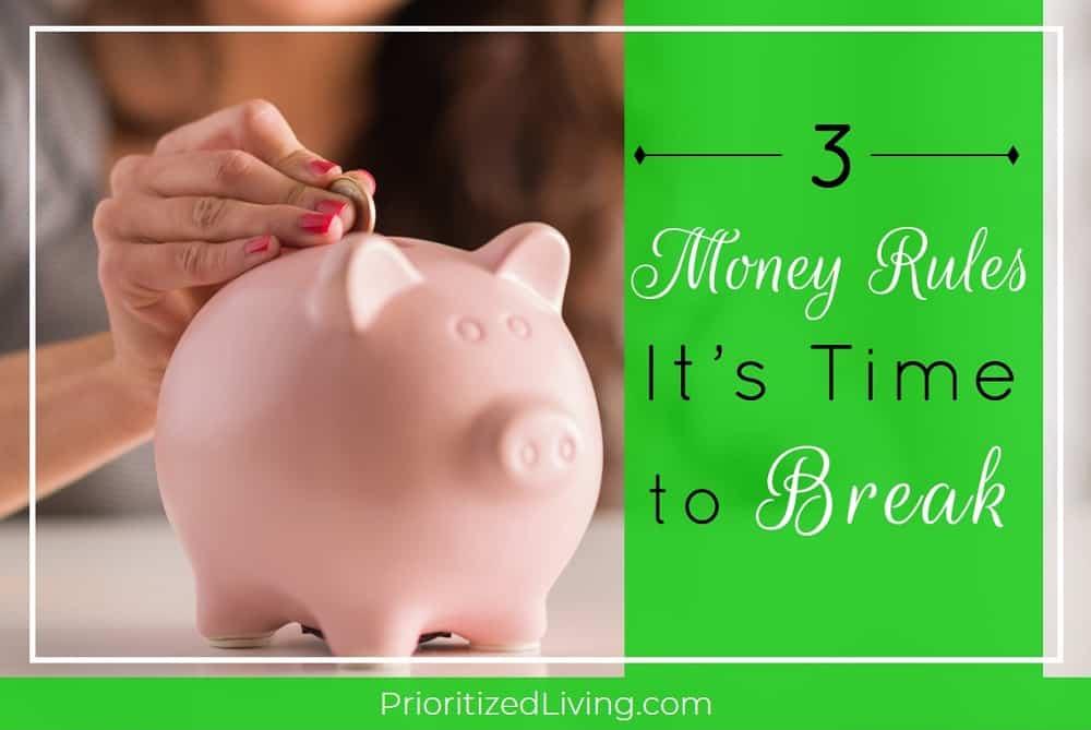 break piggy bank