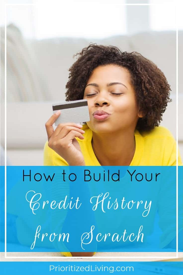 Starting on the right foot when it comes to building credit isn't as hard as you might think. In fact, you can do it by tackling a few basic steps. | How to Build Your Credit History from Scratch | Prioritized Living