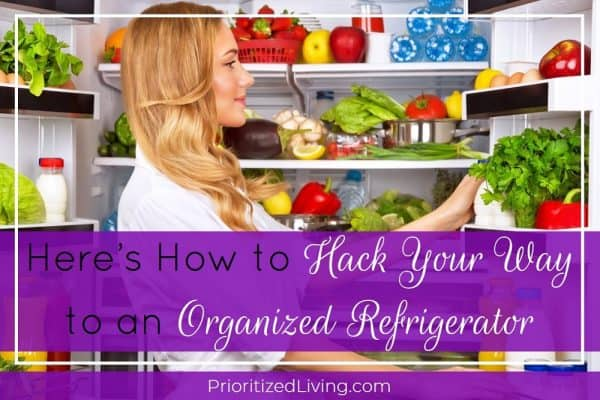 Here's How to Hack Your Way to an Organized Refrigerator