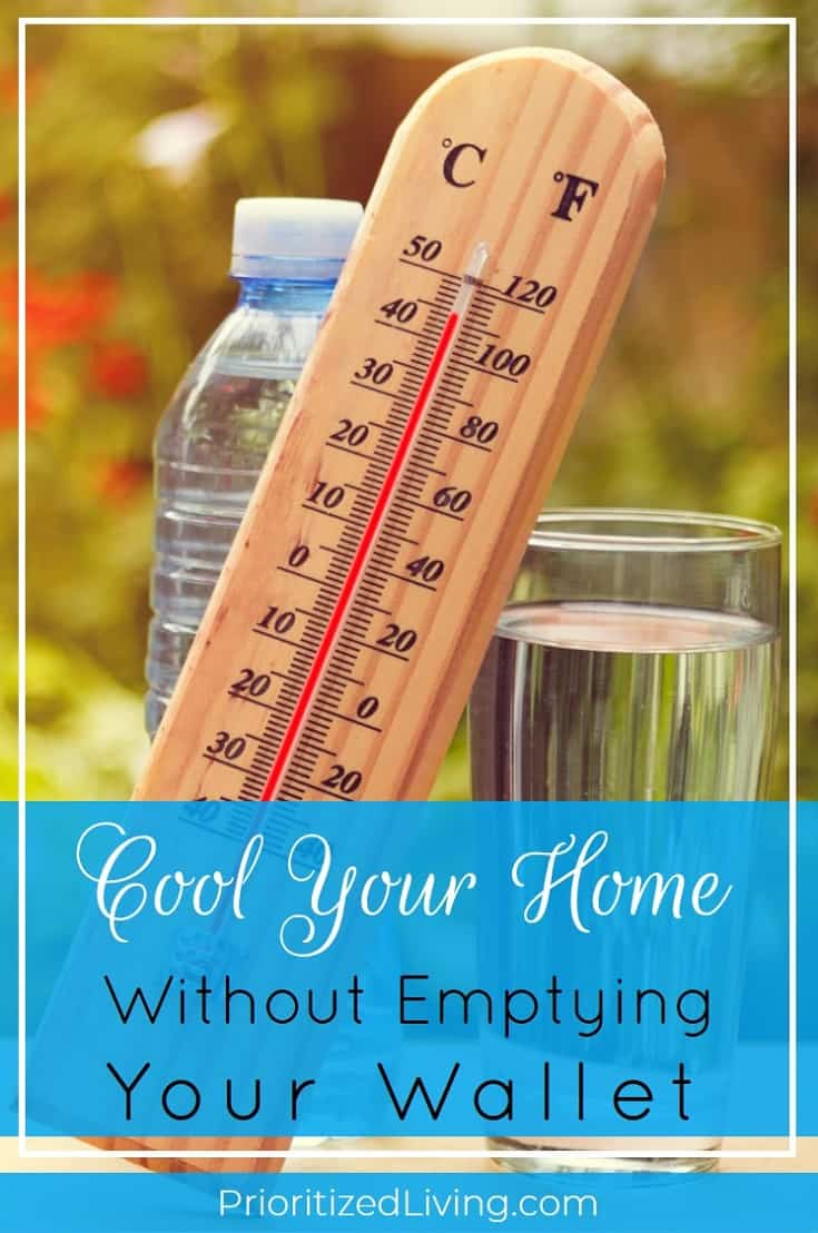 If you want to stay cool during hot summer weather, you may think that you need to pay dearly for air conditioning. But keeping cozy doesn't have to drain your wallet. In fact, here are some easy ways to save money on your air conditioning bill. | Cool Your Home Without Emptying Your Wallet | Prioritized Living