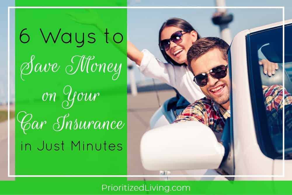 6 Ways to Save Money on Your Car Insurance in Just Minutes