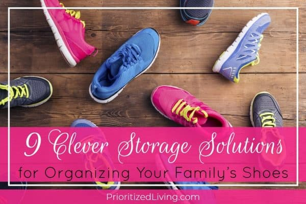 9 Clever Storage Solutions for Organizing Your Family's Shoes