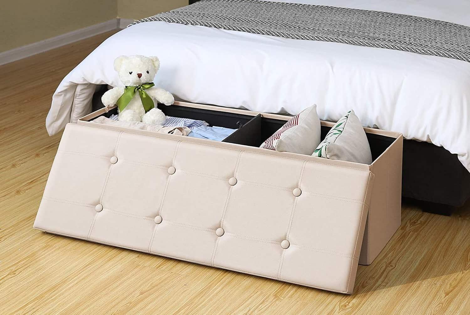 Storage Bench - Interior Storage