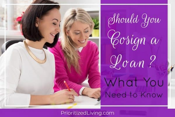 Should You Cosign a Loan? What You Need to Know