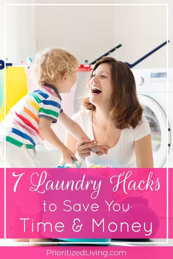 7 Laundry Hacks to Save You Time and Money | Prioritized Living
