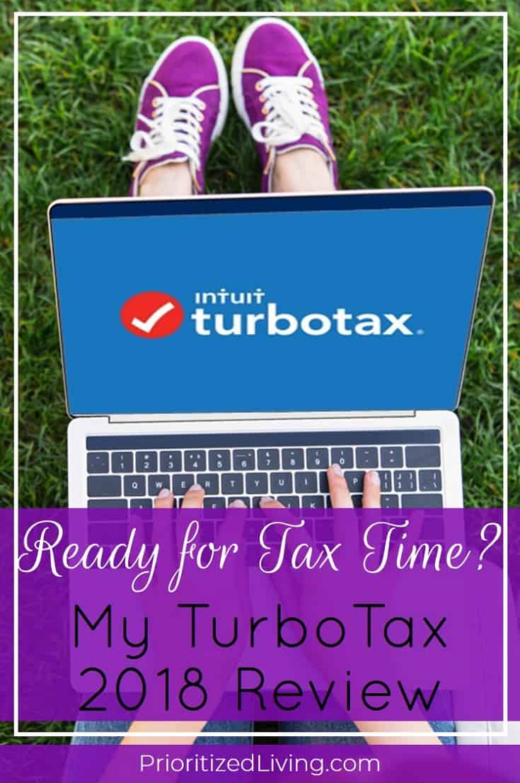 Curious about tax preparation software like TurboTax? I'm sharing 12 things I love about TurboTax and how you can choose the product that's right for you! | Ready for Tax Time? My TurboTax 2018 Review | Prioritized Living