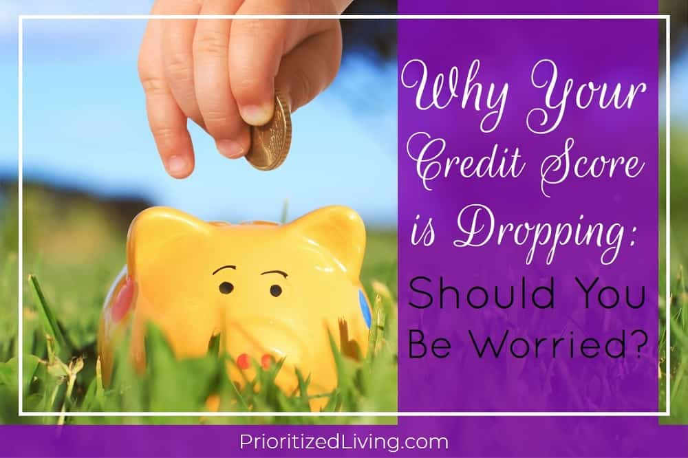 Why Your Credit Score is Dropping: Should You Be Worried?
