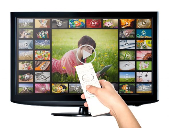 Video streaming service on T.V.