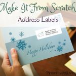 Make It From Scratch:  Address Labels