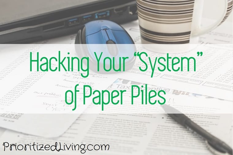 Hacking Your System of Paper Piles