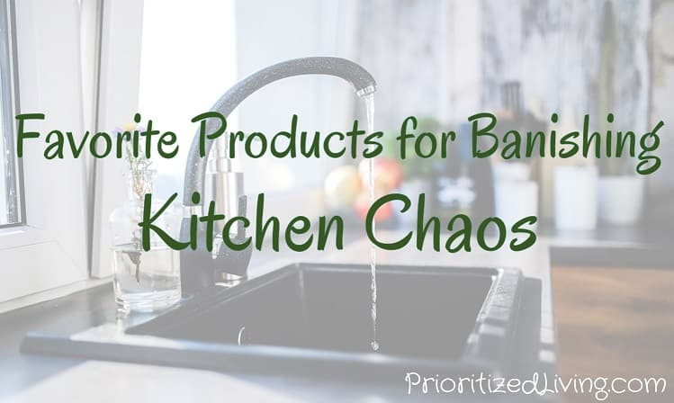 Favorite Products for Banishing Kitchen Chaos