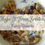 Make It From Scratch:  Fancy Granola