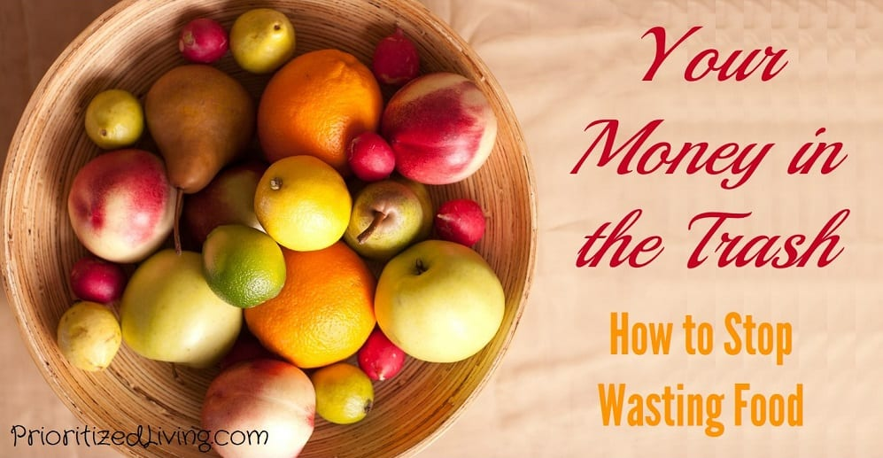 Your Money in the Trash - How to Stop Wasting Food