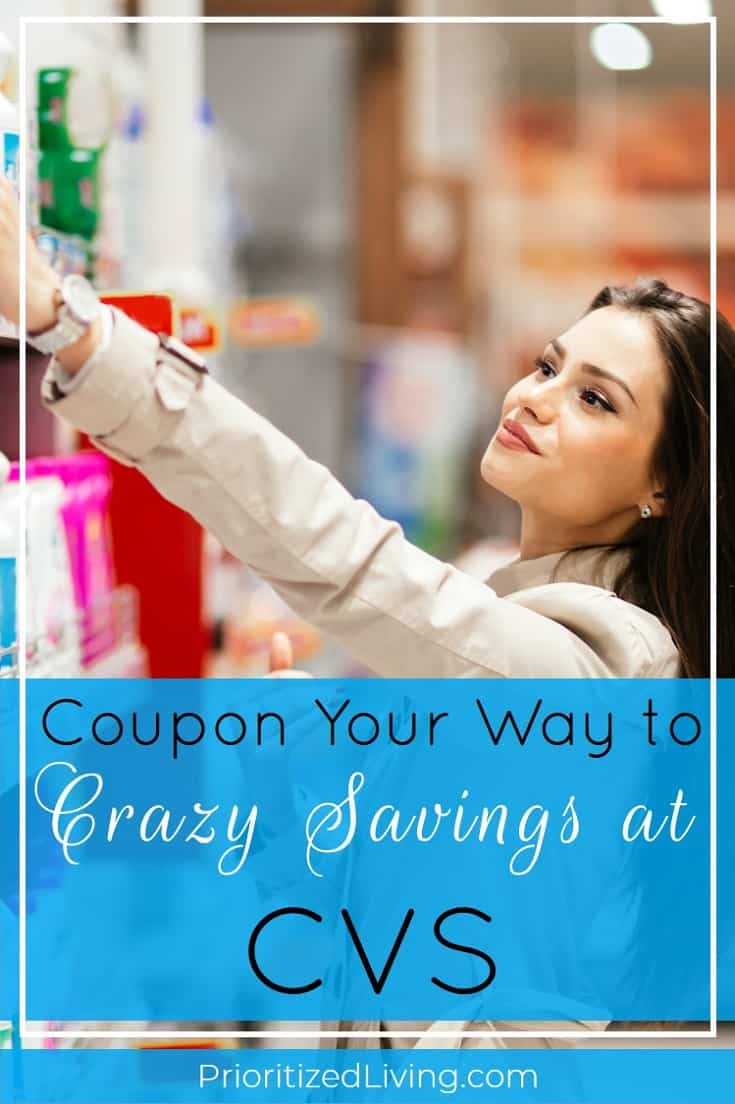 Want to play the drugstore game at CVS? Here's your essential guide to couponing and saving big at the drugstore! | Coupon Your Way to Crazy Savings at CVS | Prioritized Living