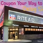 Coupon Your Way to Crazy Savings at Rite Aid
