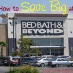 How to Save Big at Bed Bath & Beyond