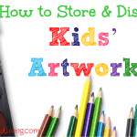 How to Store & Display Kids' Artwork