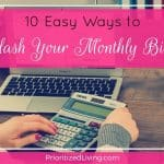 10 Easy Ways to Slash Your Monthly Bills