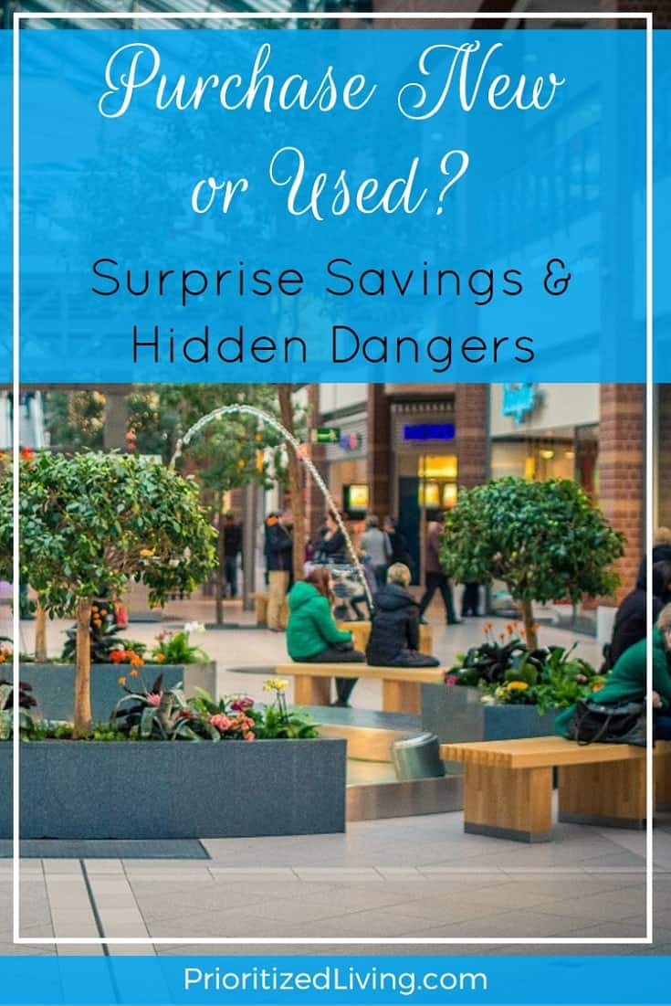 When you make a purchase, you want quality at a terrific price. When should you buy new . . . and when is there a savvier way to go? - Prioritized Living
