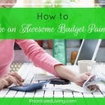 How to Make an Awesome Budget Painlessly