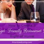 How to Create a Budget-Friendly Restaurant Date Right at Home