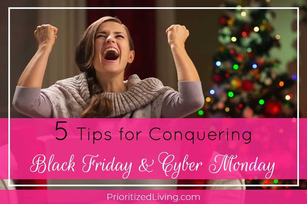 5 Tips for Conquering Black Friday and Cyber Monday