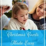 Christmas Cards Made Easy - How to Simplify Your Process | Prioritized Living