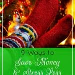 Got the Christmas blues? Try these nine tips for spending and stressing less, so you can actually enjoy the magic of the holiday season. | 9 Ways to Save Money and Stress Less This Holiday Season | Prioritized Living