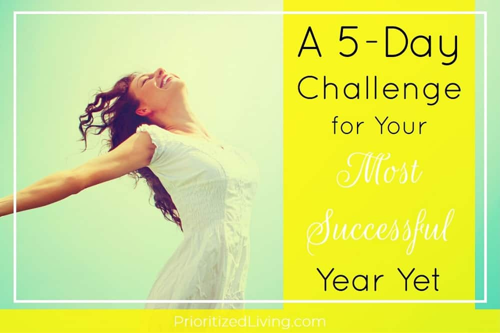 A 5-Day Challenge for Your Most Successful Year Yet