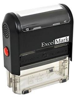 ExcelMark Self-Inking Custom Return Address Stamp